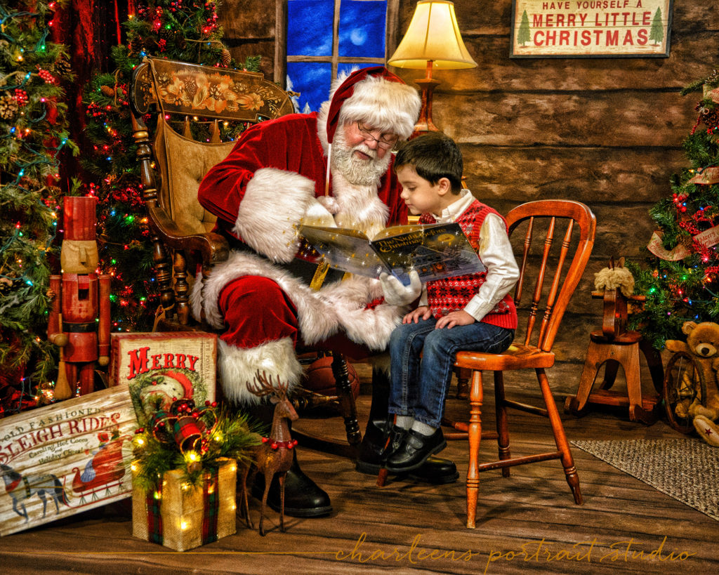 Santa Portraits | The Night Before Christmas | Magical Santa Experience