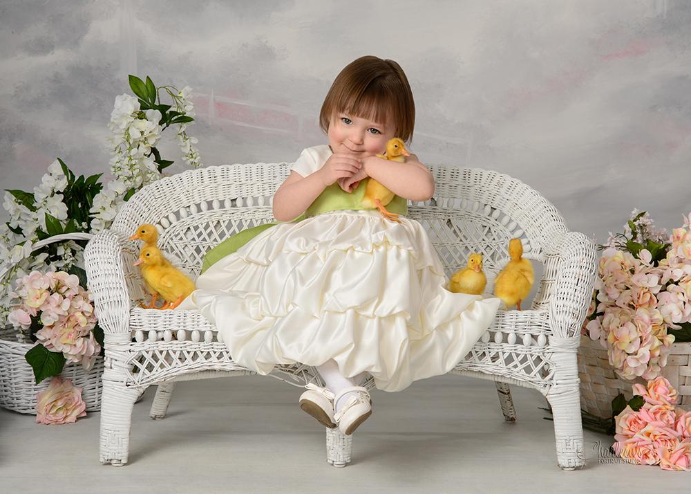 Charleen's Portrait Studio - Baby Ducklings
